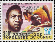 [Football World Cup Winners From 1962-1978 - Stamps of 1978 Overprinted, Typ YP]
