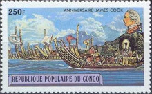 [The 200th Anniversary of the Death of Captain James Cook, type YV]
