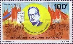 [Salvador Allende (former President of Chile) Commemoration, type ZI]
