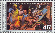 [African Folktales as Part of Children's Education, type ZJ]