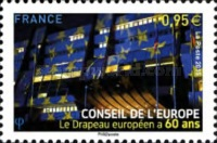 [The 60th Anniversary of the European Union Flag, type AA]