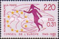 [The 40th Anniversary of the Council of Europe, type G]