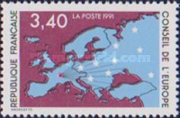 [Map of Europe, type H3]