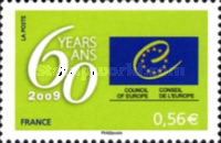 [The 60th Anniversary of the Council of Europe, type R]