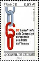 [The 60th Anniversary of the European Convention on Human Rights, type U]
