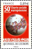 [The 50th Anniversary of the European Social Charter of the Council of Europe, type V]