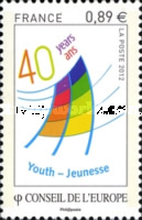 [The 40th Anniversary of the European Youth Centre, type W]