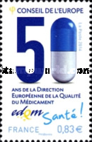 [The 50th Anniversary of the EDQM & The 60th Anniversary of European Cultural Co-operation, type Y]