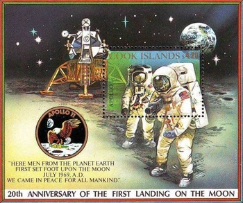 [The 20th Anniversary of the First Manned Landing on the Moon, type ]
