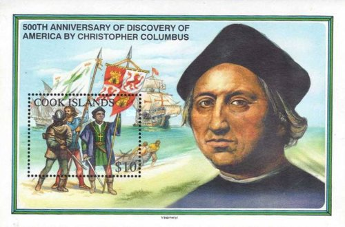 [The 500th Anniversary of the Discovery of America by Christopher Columbus, type ]