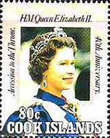 [The 40th Anniversary of the Accession of Queen Elizabeth II, type ACE]
