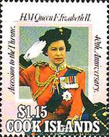 [The 40th Anniversary of the Accession of Queen Elizabeth II, type ACF]