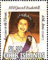 [The 40th Anniversary of the Accession of Queen Elizabeth II, type ACG]