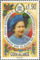 [The 70th Anniversary of the Birth of Queen Elizabeth II, type ADP]