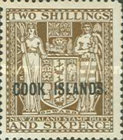 """[Stamps of New Zealand Overprinted """"COOK ISLANDS"""", type AT]"""