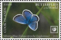 [Insects - Butterflies of the World - with White Frame, type BCF]