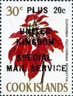 """[Issues of 1967 Overprinted """"UNITED KINGDOM SPECIAL MAIL SERVICE"""", type EL3]"""