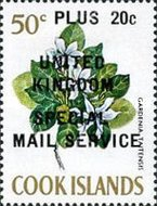 """[Issues of 1967 Overprinted """"UNITED KINGDOM SPECIAL MAIL SERVICE"""", type EM3]"""