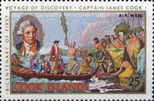 [Airmail - The 200th Anniversary of Captain Cook's First Voyage of Discovery, type GGC]