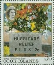"""[Issue of 1967 Overprinted """"HURRICANE RELIEF - PLUS"""", type QFT2]"""