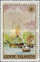 [The 200th Anniversary of Captain Cook's First Voyage of Discovery, type QFW]