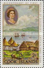 [The 200th Anniversary of Captain Cook's First Voyage of Discovery, type QFX]