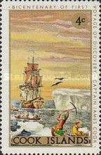 [The 200th Anniversary of Captain Cook's First Voyage of Discovery, type QFY]