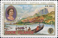 [Airmail - The 200th Anniversary of Captain Cook's First Voyage of Discovery, type QGA]