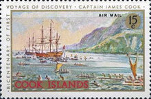 [Airmail - The 200th Anniversary of Captain Cook's First Voyage of Discovery, type QGB]