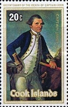 [The 200th Anniversary of the Death of Captain James Cook, 1728-1779, type RNI]