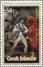 [The 200th Anniversary of the Death of Captain James Cook, 1728-1779, type RNL]