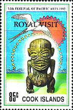 """[Previously Issued Stamps Overprinted """"ROYAL VISIT"""", type TCN1]"""