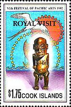 """[Previously Issued Stamps Overprinted """"ROYAL VISIT"""", type TCP1]"""