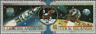 [The 20th Anniversary of the First Manned Landing on the Moon, type ZV]