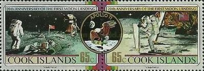 [The 20th Anniversary of the First Manned Landing on the Moon, type ZZ]