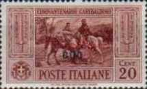 """[Italian Postage Stamps No. 360-369 Overprinted """"COO"""", tyyppi L]"""