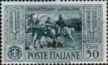 """[Italian Postage Stamps No. 360-369 Overprinted """"COO"""", tyyppi L1]"""