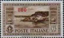 """[Italian Postage Stamps No. 360-369 Overprinted """"COO"""", tyyppi P]"""