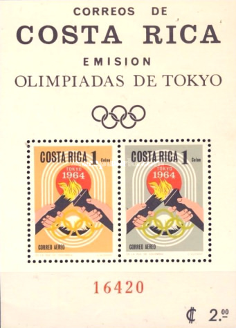 [Airmail - Olympic Games (1964), type ]