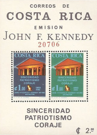 [Airmail - The 2nd Anniversary of the Death of President Kennedy, 1917-1963, type ]