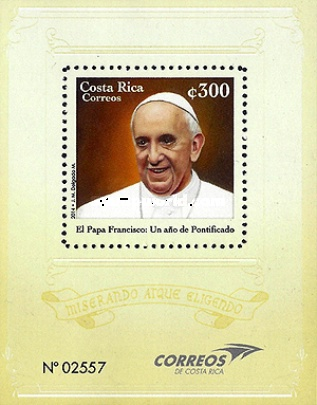 [The 1st Anniversary of the Election of Pope Francis, type ]