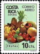 [Airmail - Costa Rican Products, type AAG]