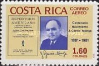 [Airmail - The 100th Anniversary of the Birth of Joaquin Garcia Monge, type ABC1]