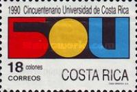 [The 50th Anniversary of University of Costa Rica, type AJT]