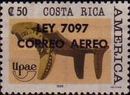 [Airmail - Issue of 1989 Overprinted