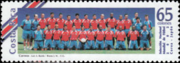 [Football World Cup - South Korea and Japan, type AQT]