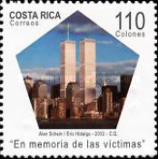 [The 1st Anniversary of Attack on World Trade Centre, New York, type ARC]