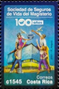 [The 100th Anniversary of the Life Insurance Society of the Magisterium, type BFN]