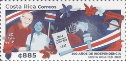 [The 200th Anniversary of the Independence of Costa Rica, type BFU]