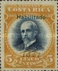 [Personalities issues of 1903 and 1907 Overprinted